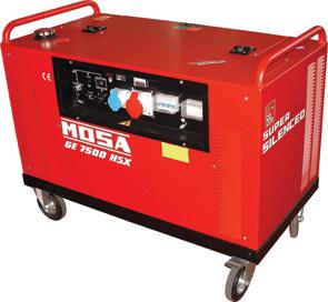 Grup electrogen GE 7500 HSX EAS