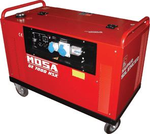Grup electrogen GE 7000 HSX EAS